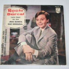 Discos de vinilo: ROCÍO DURCAL *** SINGLE VINILO AÑO 1965 *** PHILIPS. Lote 160710658