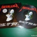 Discos de vinilo: METALLICA METAL UP YOUR ASS PICTURE DISC. Lote 160979161
