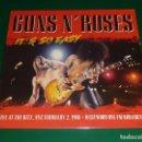 Discos de vinilo: GUNS N ROSES IT'S SO EASY LP. Lote 160712138