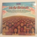 Discos de vinilo: USA FOR AFRICA-WE ARE THE WORLD/MICHAEL JACKSON Y LIONEL RICHIE/MAXISINGLE 1985 CBS ESPAÑA. Lote 160713081