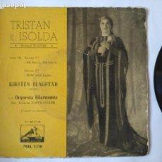 Discos de vinilo: TRISTAN E ISOLDA SINGLE. Lote 160714874