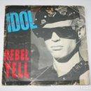 Discos de vinilo: BILLY IDOL *** SINGLE VINILO AÑO 1985 *** CHRYSALIS. Lote 160715154
