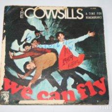 Discos de vinilo: THE COWSILLS *** SINGLE VINILO AÑO 1969 *** M.G.M.. Lote 160715574