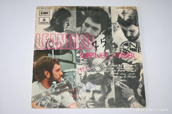 LEANDRO *** SINGLE VINILO AÑO 1972 *** EMI ODEÓN (Música - Discos - Singles Vinilo - Pop - Rock - Extranjero de los 70)