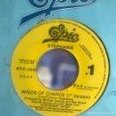 Discos de vinilo: STEPHANIE - WINDS OF CHANCE - SINGLE EPIC 1991 PROMO UNA CARA. Lote 160716970
