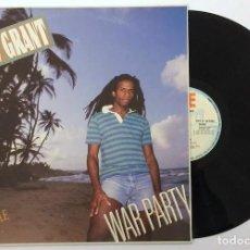 Discos de vinilo: LP EDDY GRANT - WAR PARTY. Lote 160719090