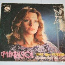 Discos de vinilo: MARISOL *** SINGLE VINILO AÑO 1976 *** NOVOLA STEREO. Lote 160719094
