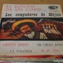 Discos de vinilo: LOS COMPAÑEROS DE MEJICO - EL SONIDO DE UN CORO - LONDON EDGE 71811 - 1968. Lote 160719914