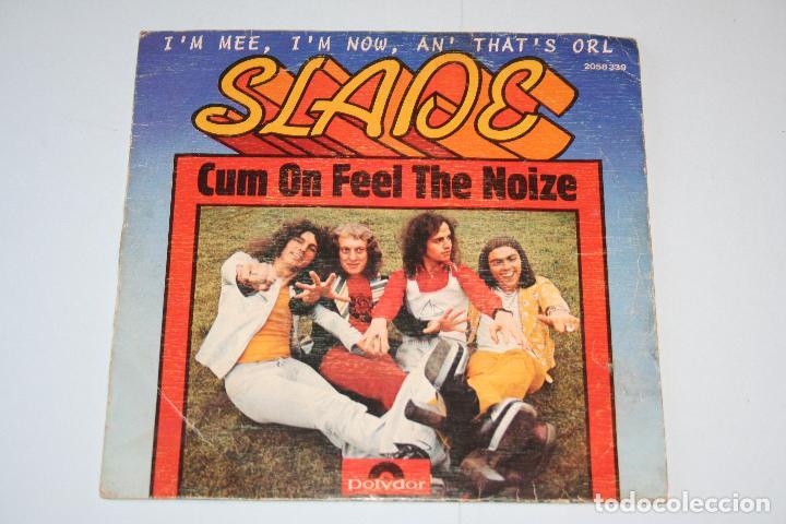 SLADE *** SINGLE VINILO AÑO 1973 *** POLYDOR (Música - Discos - Singles Vinilo - Heavy - Metal)