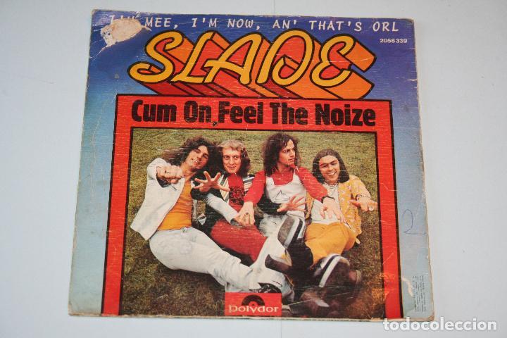 Discos de vinilo: SLADE *** SINGLE VINILO AñO 1973 *** POLYDOR - Foto 2 - 160721446