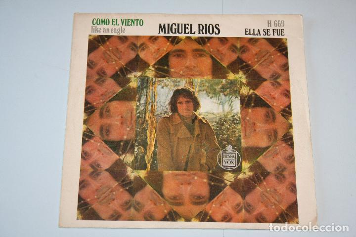MIGUEL RÍOS *** SINGLE VINILO AÑO 1970 ***HISPAVOX (Música - Discos - Singles Vinilo - Cantautores Españoles)