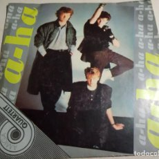 Discos de vinilo: A-HA.TAKE ON ME.AMIGA.1986.GDR.EP.. Lote 160723506
