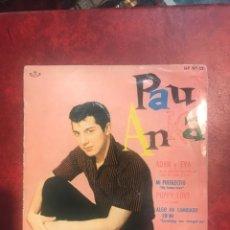 Discos de vinilo: PAUL ANKA SINGLE EP DE 1960. Lote 160725924
