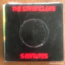 Dischi in vinile: STRANGLERS - 5 MINUTES - SINGLE UA UK 1979. Lote 160728758