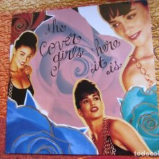 Discos de vinilo: THE COVER GIRLS-LP DE VINILO -TITULO HERE IT IS -CON 10 TEMAS- ORIGINAL DEL 92- NUEVO. Lote 160733434