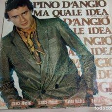 Discos de vinilo: PINO D'ANGIÓ.MA QUALE IDEA.PERO QUE IDEA.RCA.1981.SPAIN.. Lote 160733638