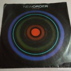 Discos de vinilo: NEWORDER.BLUE MONDAY. ROUGH TRADE.1988.GERMANY.. Lote 222732213