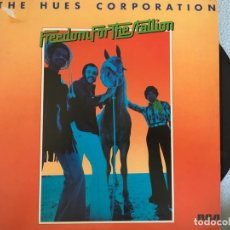 Discos de vinilo: LP THE HUES CORPORATION-FREEDOM FOR THE STALLION. Lote 160743906