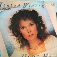 Discos de vinilo: LP TERESA WIATER-UNDO ME. Lote 160744198