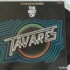 Discos de vinilo: LP TAVARES-THE BEST OF. Lote 160746854