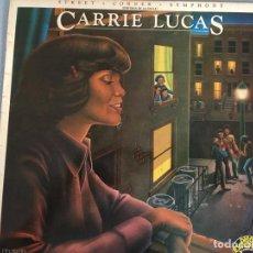 Discos de vinilo: LP CARRIE LUCAS-STREET CORNER .... Lote 160747894