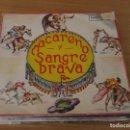 Discos de vinilo: GRAN ORQUESTA - PASODOBLES TOREROS: MACARENO / SANGRE BRAVA - INTERDISC EC-105 - 1972. Lote 160757182