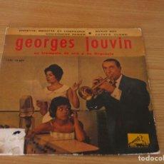 Dischi in vinile: GEORGES JOUVIN - ANNETTE, BRIGITTE ET COMPAGNIE / BANJO BOY / COU-COUCHE PANIER / CATHY'S CLOWN. Lote 160758942