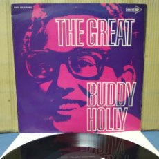 Discos de vinilo: BUDDY HOLLY - THE GREAT BUDDY HOLLY 1971 ( 1967 ) GER. Lote 160778430