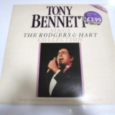 Discos de vinilo: LP. TONY BENNETT. SINGS COLLECTION. THE RODGERS & HART. 1986. NELSON. Lote 160783038