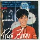 Discos de vinilo: RIKA ZARAI / OUBLIE CE GARÇON LA + 3 (EP 1965). Lote 160786222