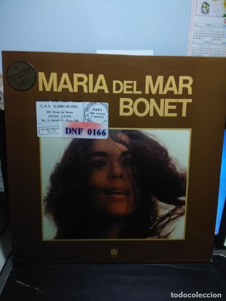LP MARIA DEL MAR BONET : INICI DE CAMPANA + 10 ( EDICION FRANCIA ) (Música - Discos - LP Vinilo - Cantautores Españoles)