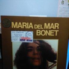 Disques de vinyle: LP MARIA DEL MAR BONET : INICI DE CAMPANA + 10 ( EDICION FRANCIA ) . Lote 160789822