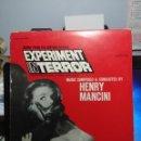 Discos de vinilo: LP BANDA SONORA DE HENRY MANCINI _ EXPERIMENT IN TERROR. Lote 160795146