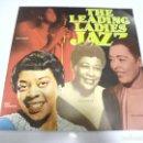 Discos de vinilo: LP. THE LEADING LADIES OF JAZZ. FLASH. Lote 160803206