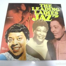 Discos de vinilo: LP. THE LEADING LADIES OF JAZZ. FLASH. Lote 160803206