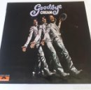 Discos de vinilo: CREAM - GOODBYE - ORIGINAL POLYDOR SPAIN 1969 - CLAPTON - BAKER - DISCO MINT!. Lote 160829186