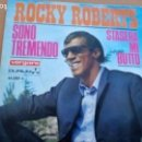 Discos de vinilo: ROCKY ROBERTS SONO TREMENDO / STRASER MI BUTTO - 1968 SINGLE SPAIN. Lote 160830162