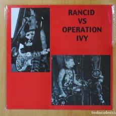 Discos de vinilo: RANCID & OPERATION IVY - RANCID VS OPERATION IVY LIVE IN JAPAN 2007 - MAXI EP. Lote 160831220