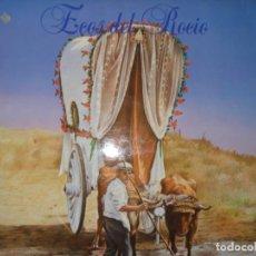 Discos de vinilo: ECOS DEL ROCIO LP AÑO 1987, SU TERCER LP EDITADO. Lote 160851826