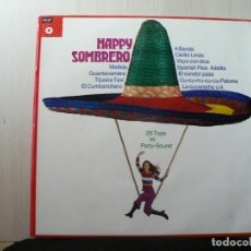 Discos de vinilo: HAPPY SOMBRERO. Lote 160852014