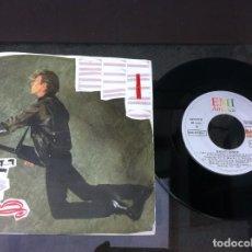 Discos de vinilo: SINGLE. DAVID BOWIE. TIME WILL CRAWL - GIRLS. 1987. Lote 160852018