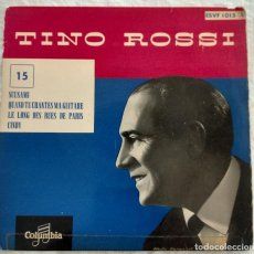 Discos de vinilo: DISCO SINGLE- TINO ROSSI ?– 15 - SCUSAMI - ÚNICO EN TODOCOLECCION.. Lote 160853610