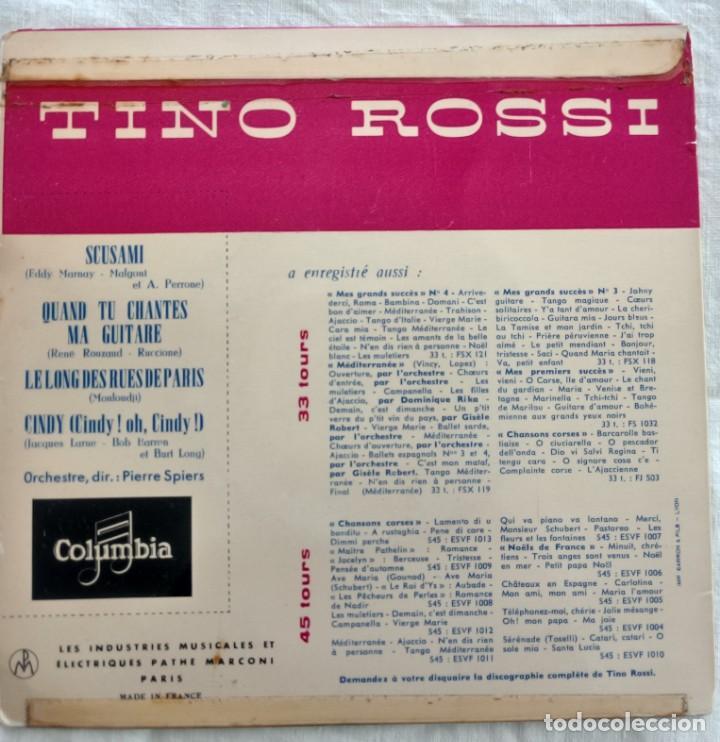 Discos de vinilo: disco single- Tino Rossi ?– 15 - Scusami - único en Todocoleccion. - Foto 2 - 160853610