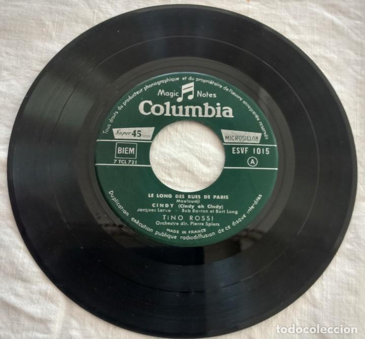 Discos de vinilo: disco single- Tino Rossi ?– 15 - Scusami - único en Todocoleccion. - Foto 3 - 160853610