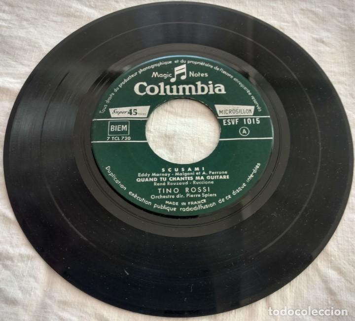 Discos de vinilo: disco single- Tino Rossi ?– 15 - Scusami - único en Todocoleccion. - Foto 5 - 160853610