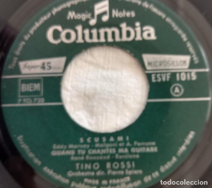 Discos de vinilo: disco single- Tino Rossi ?– 15 - Scusami - único en Todocoleccion. - Foto 6 - 160853610