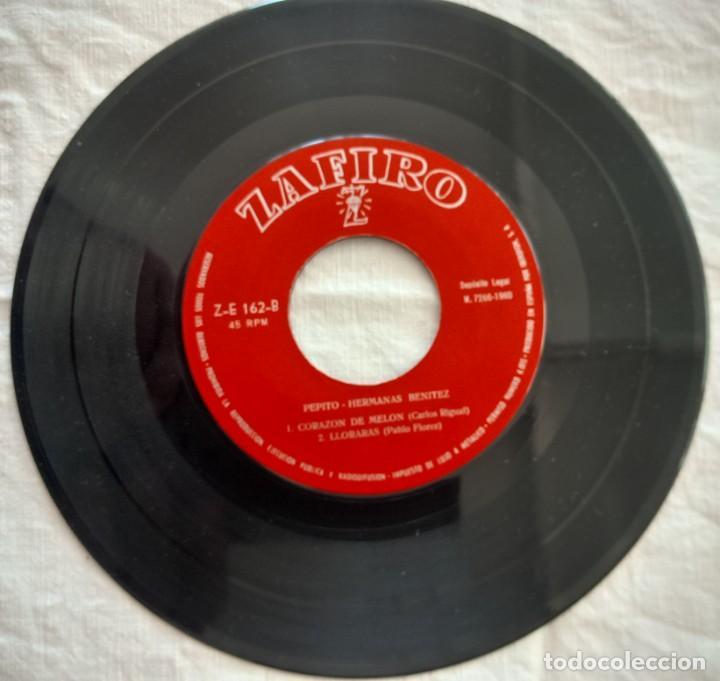 Discos de vinilo: disco single-Hermanas Benitez ?– Pepito 1960 - Foto 5 - 160857022