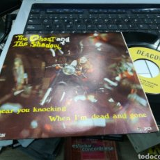 Discos de vinilo: THE GHOST AND THE SHADOW SINGLE I HEAT HOY KNOCKING ESPAÑA 1971. Lote 160858508