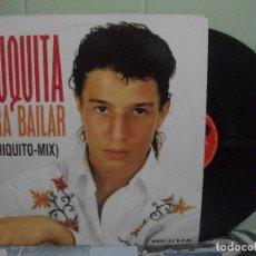 Discos de vinilo: AZUQUITA - PARA BAILAR (CHIQUITO MIX) - MAXI SINGLE DEL SELLO POLYDOR 1993. Lote 160865546