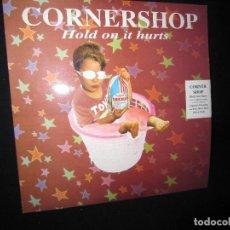 Discos de vinilo: CORNERSHOP HOLD ON IT HURTS. Lote 160867234